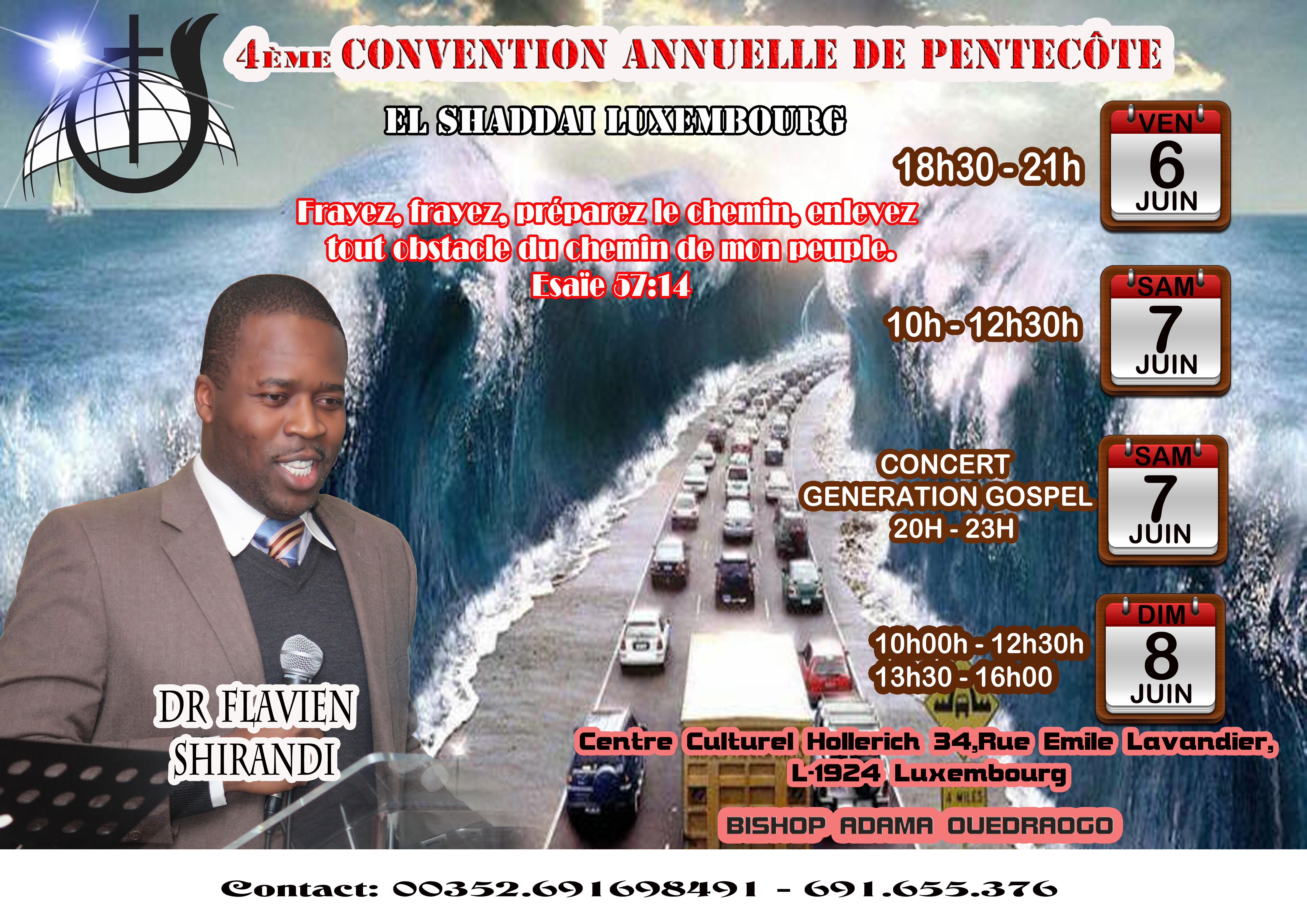 Convention annuelle de pentecôte