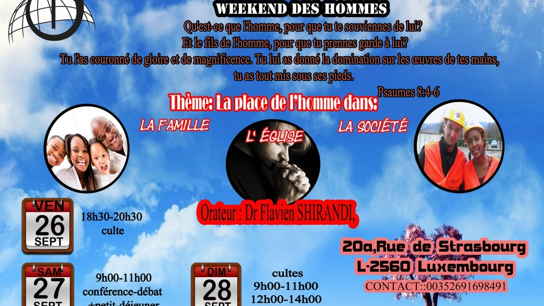 Weekend des hommes