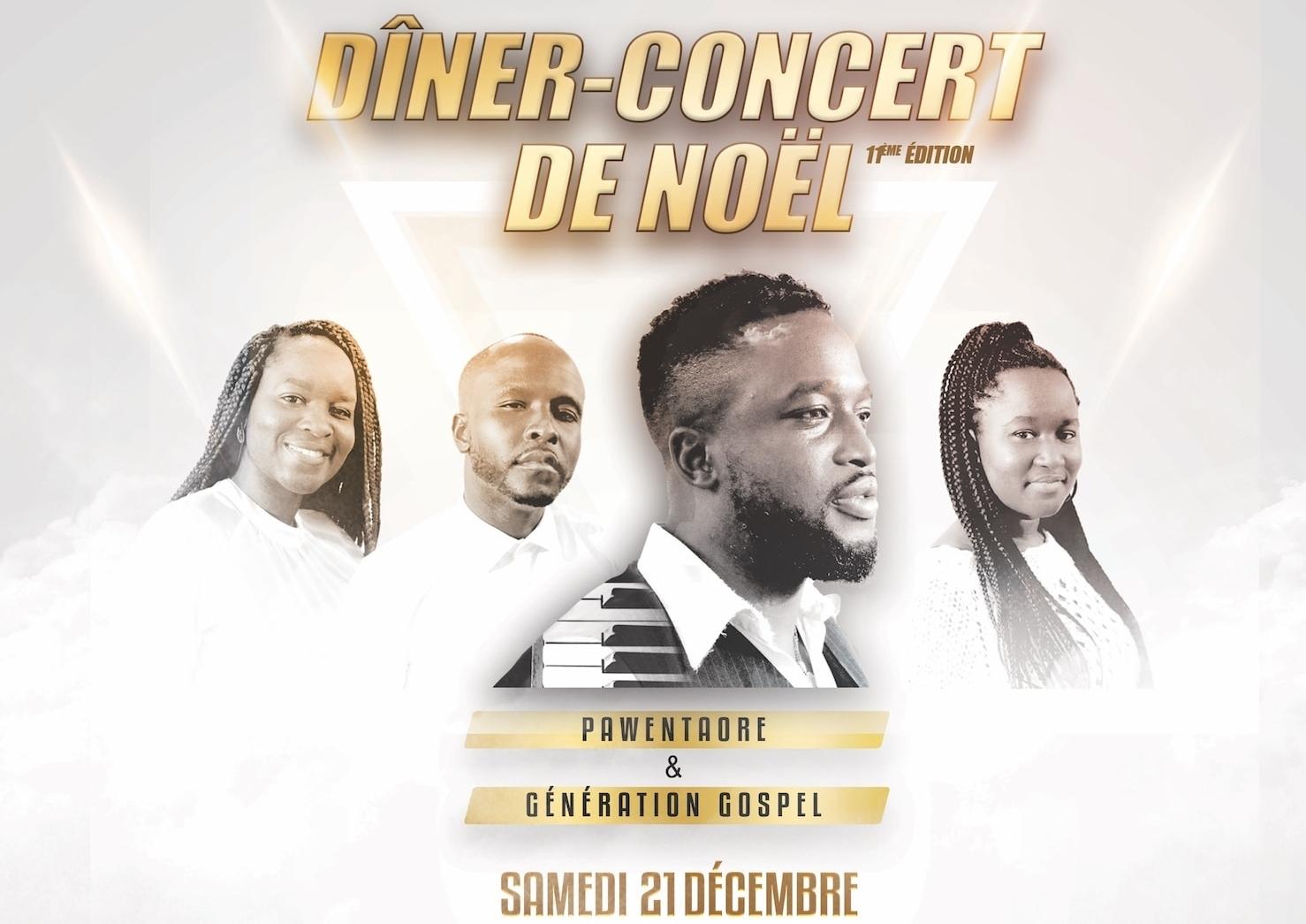dîner concert 2019 generation gospel